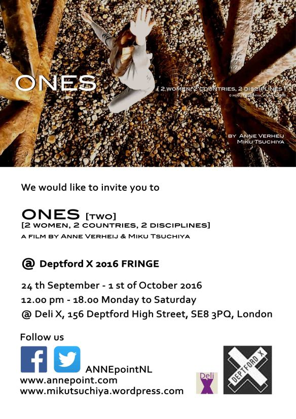 ONES[two]DeptfordX©ANNE•2016